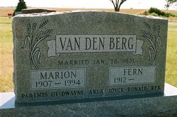 Marion VanDenBerg