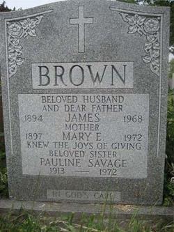 Mary Elizabeth <i>Purcell</i> Brown