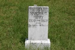 Martha Nancy Tennessee <i>Tankersley</i> Henry