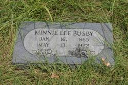 Minnie Lee Busby