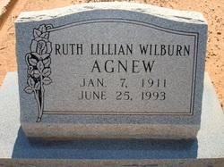 Ruth Lillian <i>Wilburn</i> Agnew