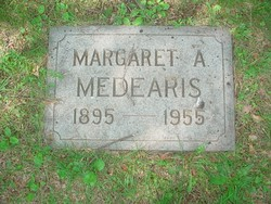 Margaret Ann <i>Mefford</i> Medearis