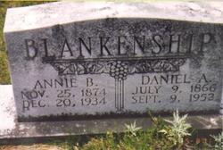 Annie M. <i>Buckalew</i> Blankenship