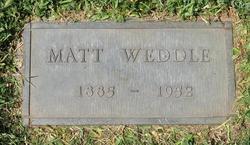 Matt Lewis Weddle