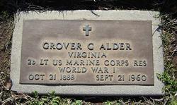 Grover Cleveland Alder