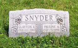 Clayton E. Snyder, Sr