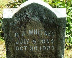 Nathaniel G Whitney