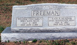 Kate R. <i>McAdam</i> Freeman