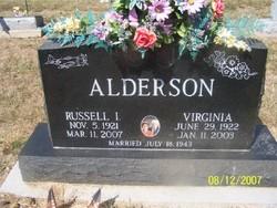 Virginia <i>Sullivan</i> Alderson