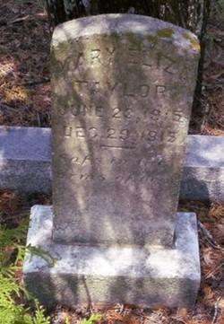 Mary Eliza Taylor