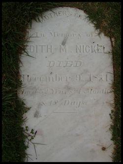 Edith Mariah <i>Ramey</i> Nickel