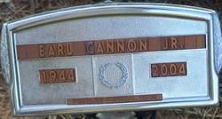 Earl Wesley Cannon, Jr