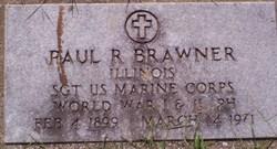 Sgt Paul R Brawner