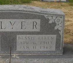 Bessie Ellen <i>Ischy</i> Salyer