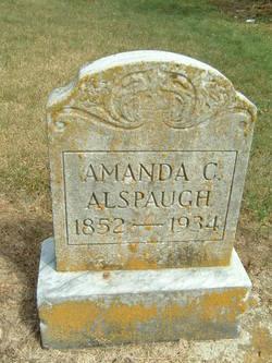 Amanda C. <i>Sigler</i> Alspaugh