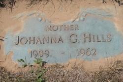 Johanna G <i>Breen</i> Hills
