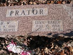 Elva <i>Baker</i> Prator