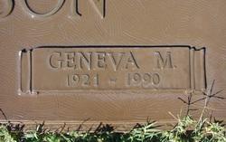 Geneva <i>Endicott</i> Johnson