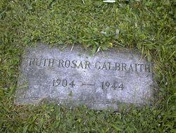 Ruth <i>Rosar</i> Galbraith