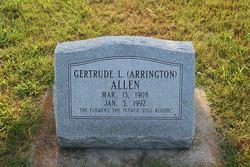 Gertrude L. <i>Arrington</i> Allen