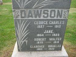 Clarence Douglas Dawson