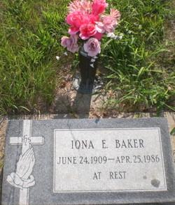 Iona E. Baker