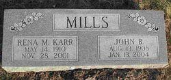Rena Maxine <i>Karr</i> Mills