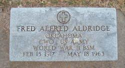 Fred Alfred Aldridge