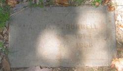 Martha Ellen <i>Young</i> Burrell