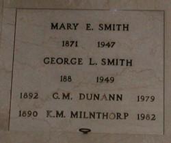 Gladys Marie <i>Mann</i> Dunann