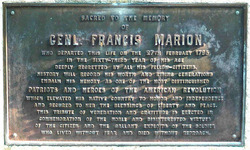 Gen Francis The Swamp Fox Marion