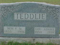Benjamin Franklin Teddlie