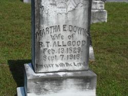 Martha Evelyn <i>Downs</i> Allgood