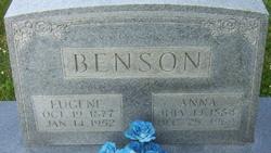 Anna Blaine <i>DeBoard</i> Benson