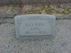 Ella <i>Berry</i> Earl