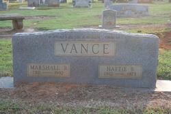 Hattie <i>Brock</i> Vance