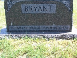 Myrtle Bell <i>Fields</i> Bryant