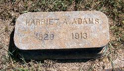 Harriet A <i>Welch</i> Adams