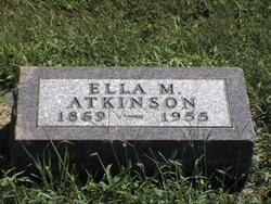 Ella M <i>Rust</i> Atkinson