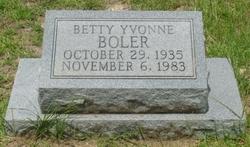 Betty Yvonne Boler