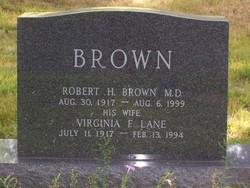 Lieut Virginia F <i>Lane</i> Brown