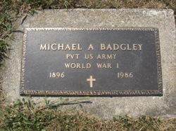 Michael A Badgley