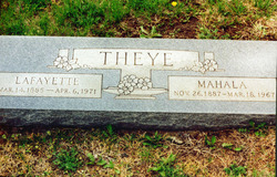 Mahala <i>Rector</i> Theye