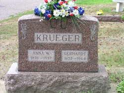 Anna Wilhelmine Ernestine <i>Leitzke</i> Krueger