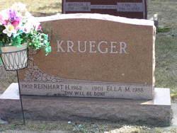 Reinhardt H Krueger