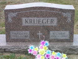 Esther Marie <i>Karow</i> Krueger