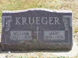 Maria Emilie Wilhelmina Mary <i>Leitzke</i> Krueger