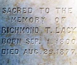 Richmond Terrell Lacy, Sr