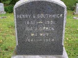 Ida Jane <i>Green</i> Southwick