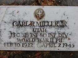 Carl Robert Miller, Jr